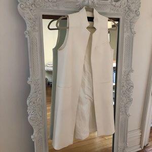 Gorgeous ZARA basic sleeveless duster jacket